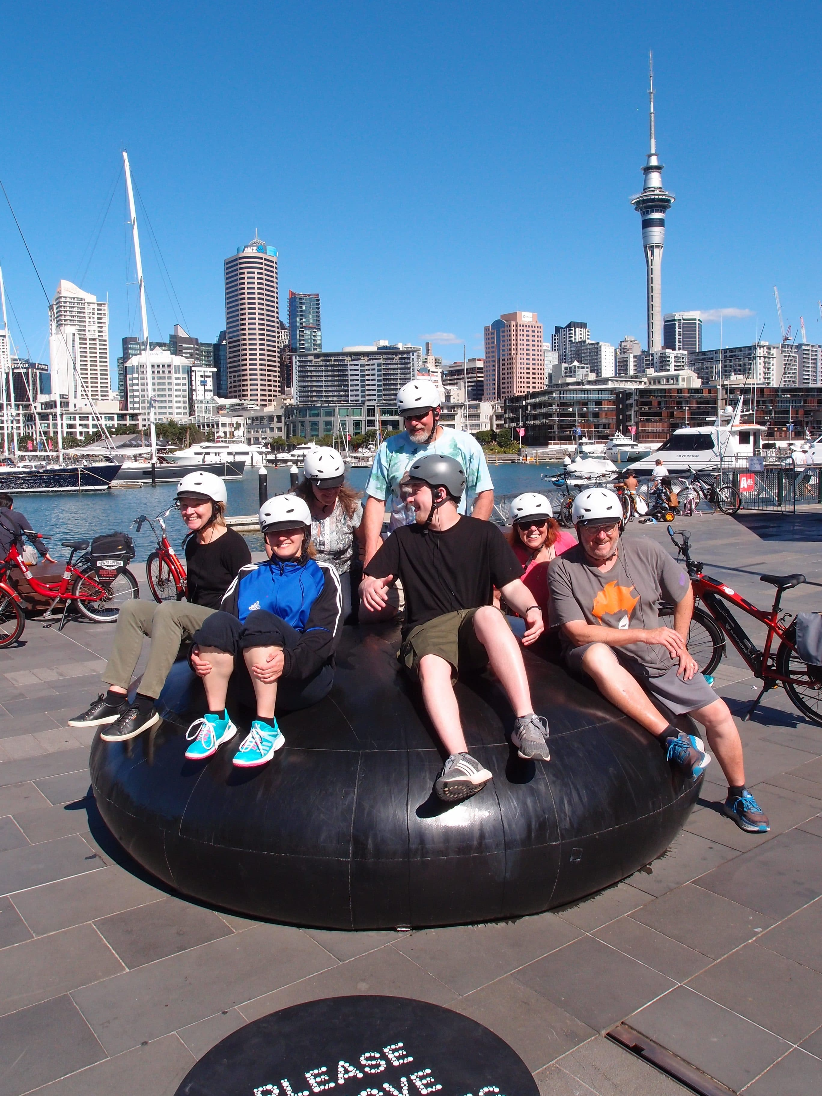 Fun on an Electric bike tour in Auckland